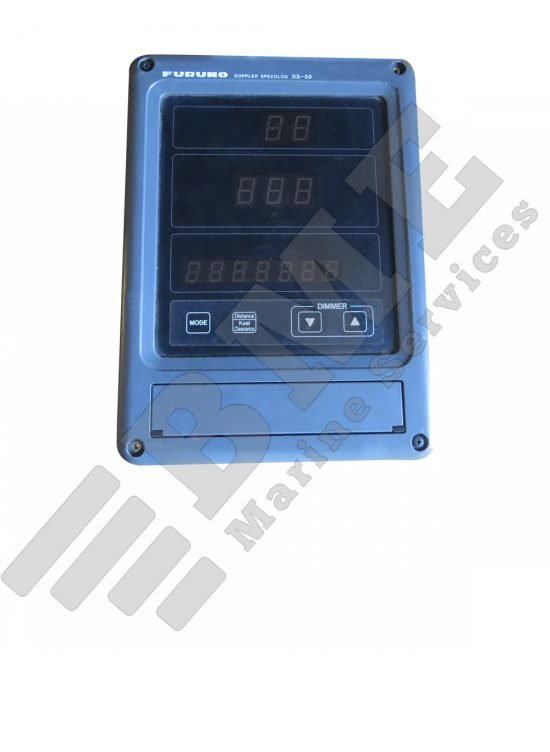 Display for Furuno speed log DS-50
