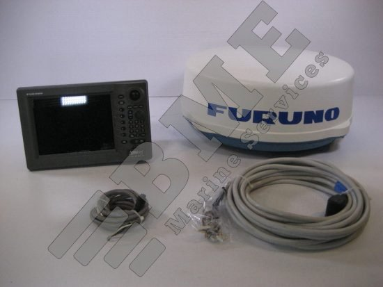 Furuno Navnet VX2 C-Map 1834C 4kw 24″ Dome Radar System w/ Cables