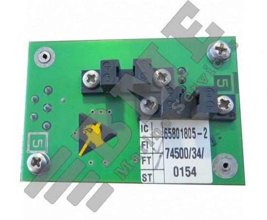 Bearing board assy 65801805 for Sperry radar