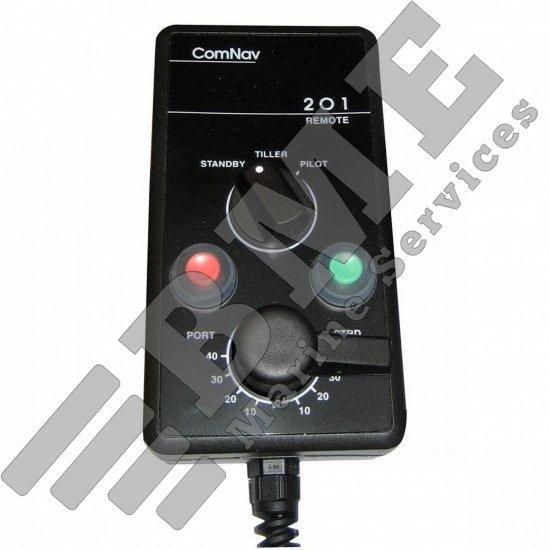 COMNAV 201 REMOTE W/40′ CABLE F/1001, 1101, 1201, 2001, & 5001 AUTOPILOTS