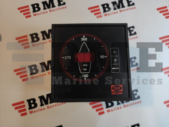DEIF Malling 879.521 Wind Speed and Direction Indicator