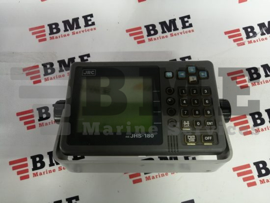 Jrc jhs-180 ais display unit ncm-722