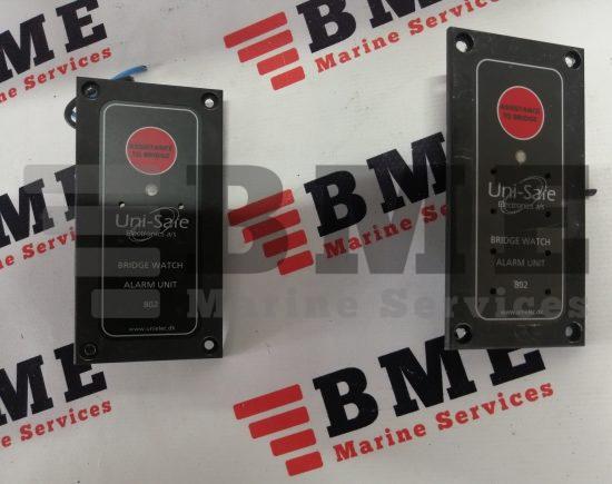 uni-safe electronics a/s Bridge watch alarm unit 802