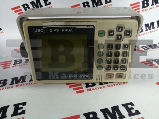 JRC NWZ 4570 GPS DISPLAY