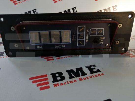 AlliedSignal Elac DAZ 25-01 Digital Repeater Display For Echosounders