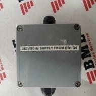 380V/50Hz supply
