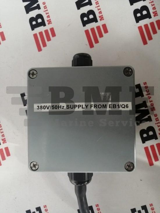 380V/50Hz SUPPLY FROM EB1/Q6 380V/50Hz supply