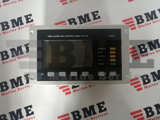 Safetec Fire Alarm and Control Panel CP-110