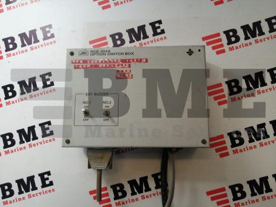 JRC NQE-894A Option Switch Box