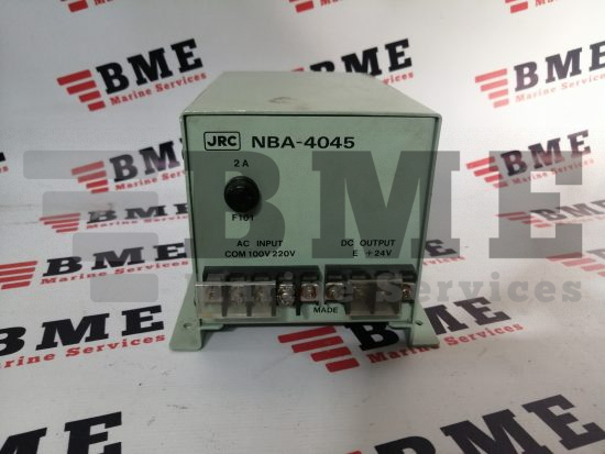 JRC AC/DC Power Supply NBA-4045