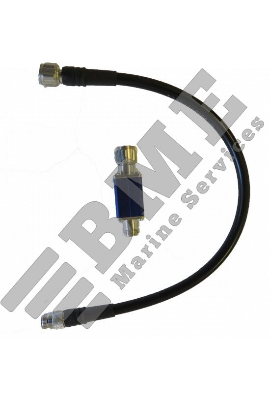 Adapter for Sailor TT-3005M antenna to TT-3020A / TT-3020B Transceiver