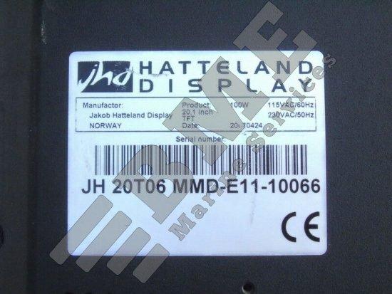 """20.1"""" Hatteland monitor for ECDIS & Radar"""