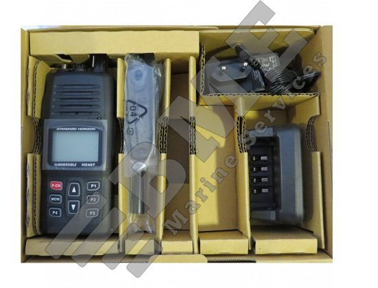 Commercial Standard Horizon UHF HX407E